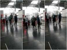 nara brahmani and devansh travels in hyderabad metro rail