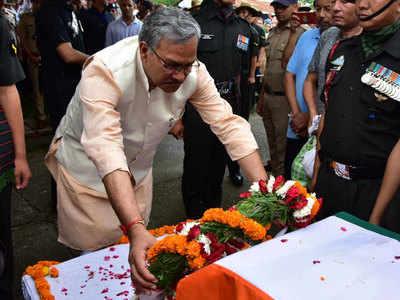 त्रिवेंद्र सिंह रावत ने दी श्रद्धांजलि