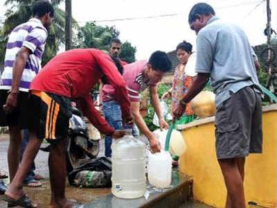 गोवा में पानी की किल्लत