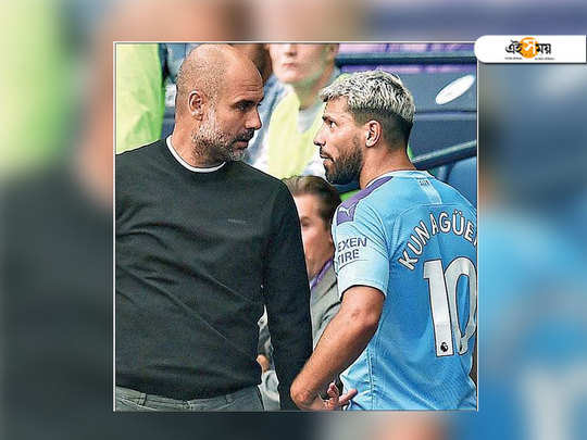 sergio aguero and coach pep guardiola conflict