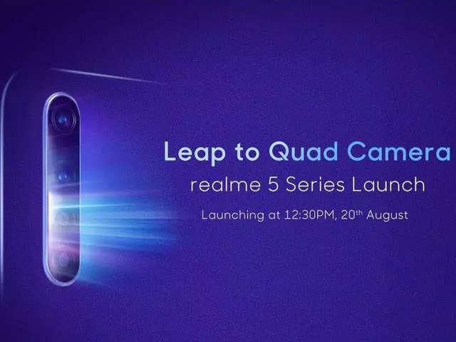 Realme 5 और 5 Pro भारत में कल होंगे लॉन्च, जानें कीमत और फीचर्स के बारे में सबकुछ यहां
