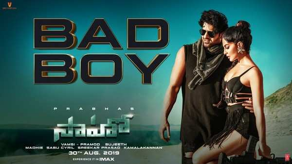 bad boy song from saaho