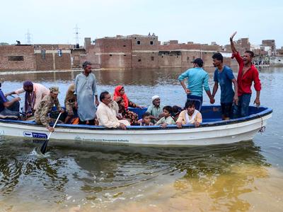 पाक में मंडराया बाढ़ का खतरा (फाइल फोटो)