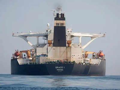 ईरानी तेल टैंकर