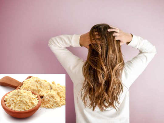 besan hair