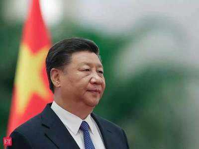 चीनी राष्ट्रपति शी चिनफिंग।