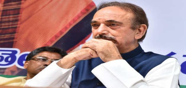 कांग्रेस नेता गुलाम नबी आजाद को जम्मू से वापस दिल्ली भेजा गया