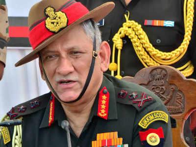 सेना प्रमुख जनरल बिपिन रावत