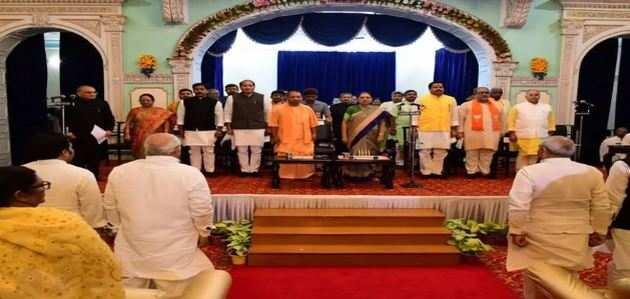 उत्तरप्रदेश कैबिनेट का विस्तार, शामिल हुए 18 नए मंत्री