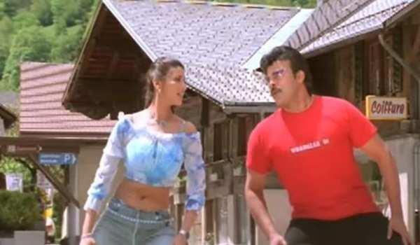chiranjeevi indra movie dayi dayi damma video song