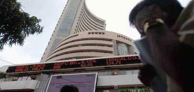 शेयर बाजार गिरावट के साथ हुआ बंद, सेंसेक्स 587 अंक लुढ़का