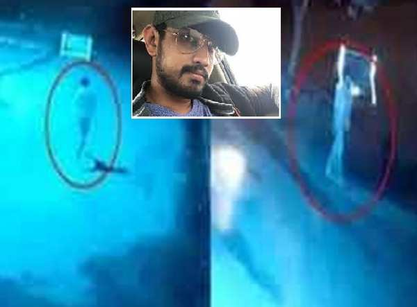 watch actor raj tarun conversation with eye witness after car accident