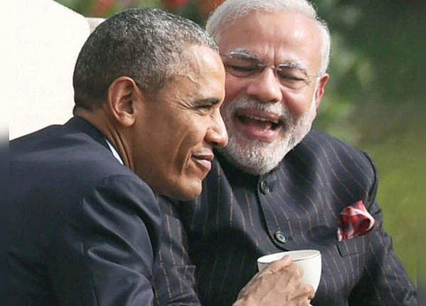 ओबामा के साथ पीएम मोदी की चाय