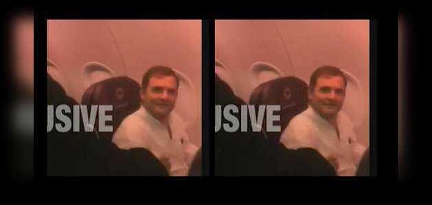 कश्मीर दौरे के लिए विपक्षी नेता दिल्ली एयरपोर्ट पर फ्लाइट में हुए सवार