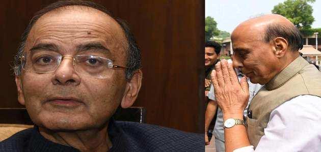 अरुण जेटली के निधन पर रक्षामंत्री राजनाथ सिंह ने जताया शोक