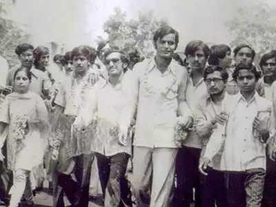 छात्र राजनीति के दौर की अरुण जेटली की तस्वीर
