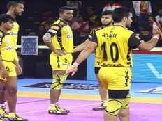 pro kabaddi league 2019 telugu titans beat jaipur pink panthers