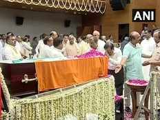 tamil nadu political leaders pay tribute to former union minister arun jaitley