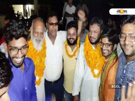 Out on bail, Bulandshahr violence accused get heroes welcome with Jai Shri Ram chants