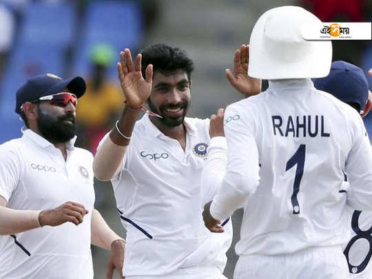 bumrah and rahane paved the way for india's victory against west indies