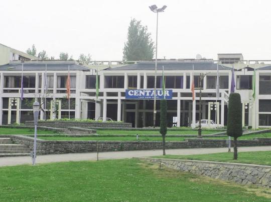 centaur hotel srinagar