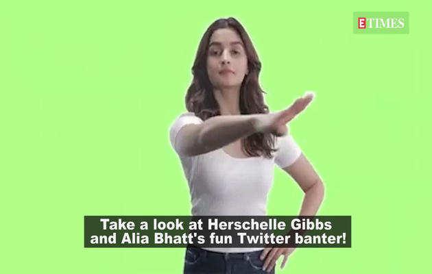 क्रिकेटर हर्शल और आलिया के बीच ट्विटर पर मजेदार बातचीत