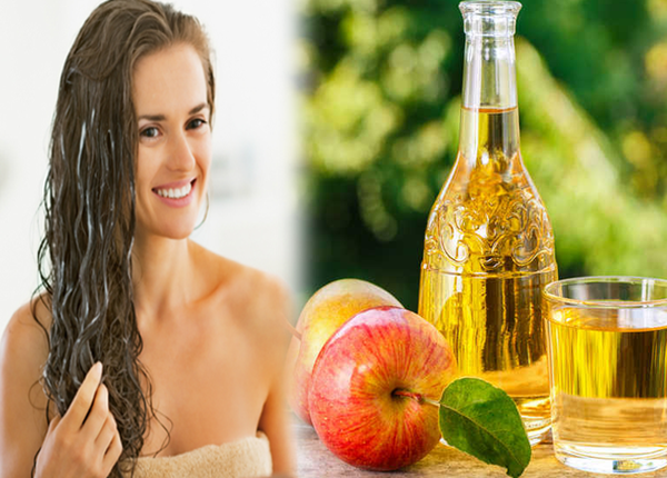 खूबसूरत बालों के लिए अपनाएं Apple cider vinegar