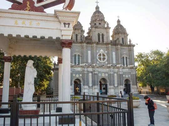 चीन में लगभग 1.20 करोड़ कैथलिक ईसाई