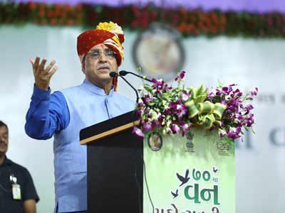 गुजरात के मुख्यमंत्री विजय रुपाणी
