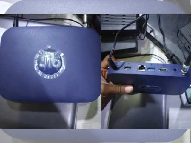 Jio GigaFiber: ऐसा दिखता है जियो का स्मार्ट हाइब्रिड सेट-टॉप बॉक्स, जानें क्या है खास