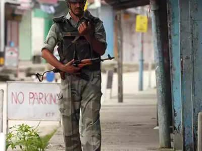 कश्मीर से वापस बुलाए गए सुरक्षा बल