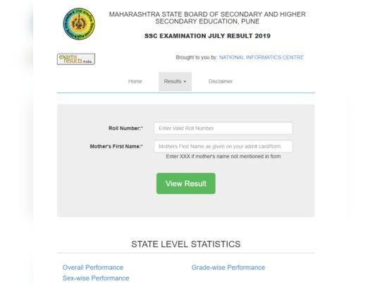 maharashtra ssc supplementary results 2019