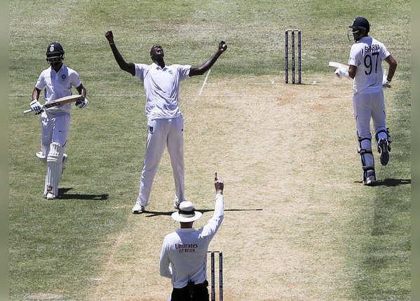416 रन पर सिमटी भारतीय पारी