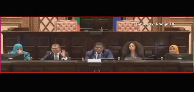 मालदीव की संसद में पाक ने उठाया कश्मीर का मुद्दा