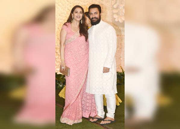 आमिर के साथ माधुरी दीक्षित