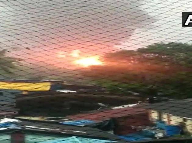 ONGC प्लांट में आग लगी
