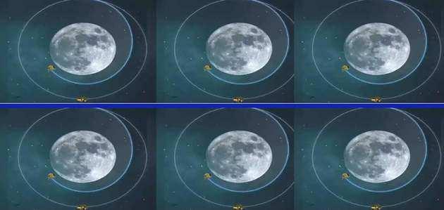 Chandrayaan-2: चांद के और करीब पहुंचा विक्रम-प्रग्यान