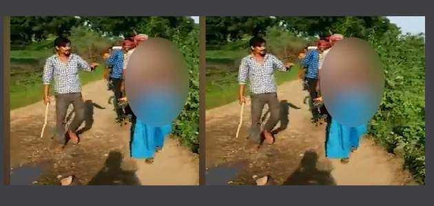 मध्य प्रदेश में गैर-जाति प्रेम संबंध पर आदिवासी लड़की की सड़क पर बेहरमी से पिटाई