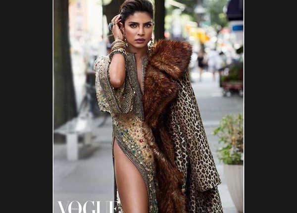 इंटरनेट पर छाया Vogue India के लिए प्रियंका का हॉट फोटोशूट