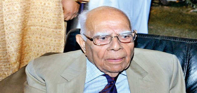 कानूनविद और पूर्व केंद्रीय मंत्री राम जेठमलानी का 95 साल की उम्र में निधन