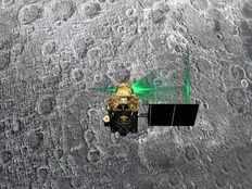 isro gets image of vikram lander on the lunar surface from orbiter