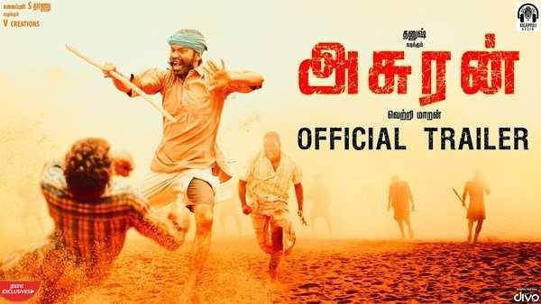 dhanush and manju warrier starrer asuran trailer released now