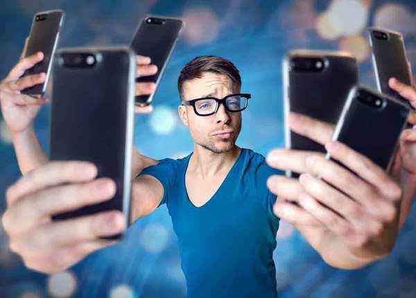 मोबाइल का अधिक यूज