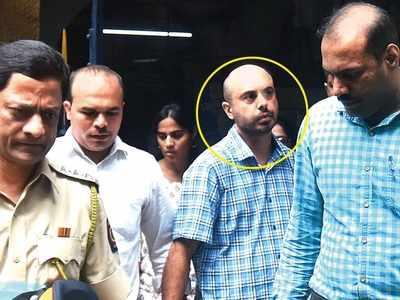 पुलिस की गिरफ्त में अनिल चुगानी