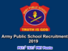 army public school invites applications for the recruitment of pgt tgt prt vacancies on adhoc basis apply here