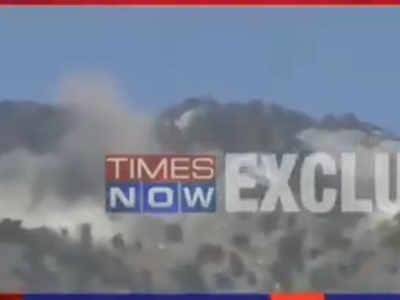 भारतीय सेना ने तबाह की पोस्ट