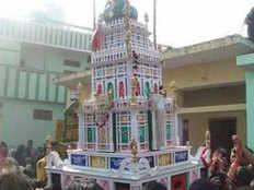 संभलः ताजिया में उतरा करंट, एक की मौत, पंद्रह घायल