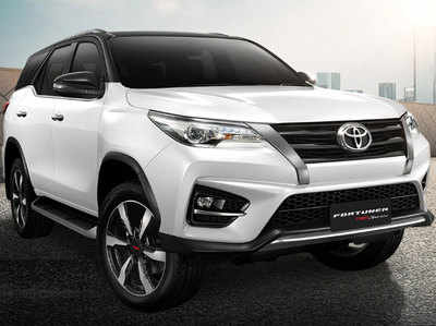 फोटो: Toyota Fortuner TRD Sportivo थाईलैंड मॉडल