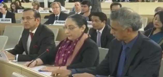 जिनेवा में मानवाधिकार बैठक में भारत ने खोला पाक का कच्चा चिट्ठा