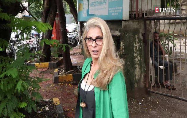 उम्र को भी मात दे रही हैं डिंपल कपाड़िया, देखिए विडियो